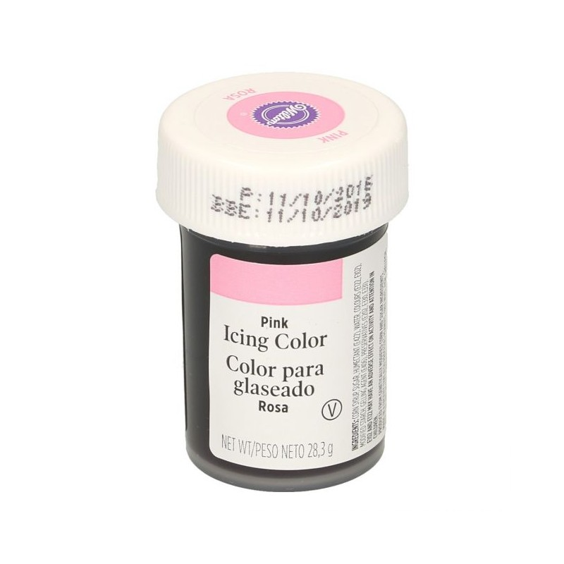 Wilton Pink Food Coloring - Worksheet & Coloring Pages