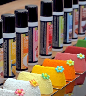 Les sprays velours