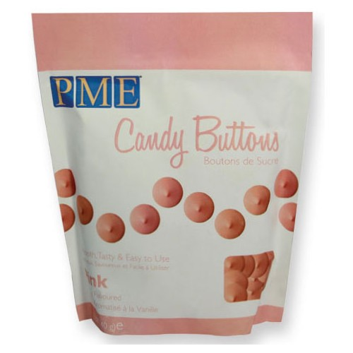 Candy Buttons pink