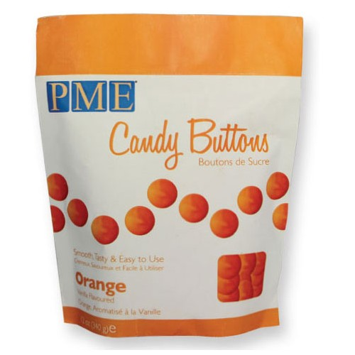 Candy Buttons orange
