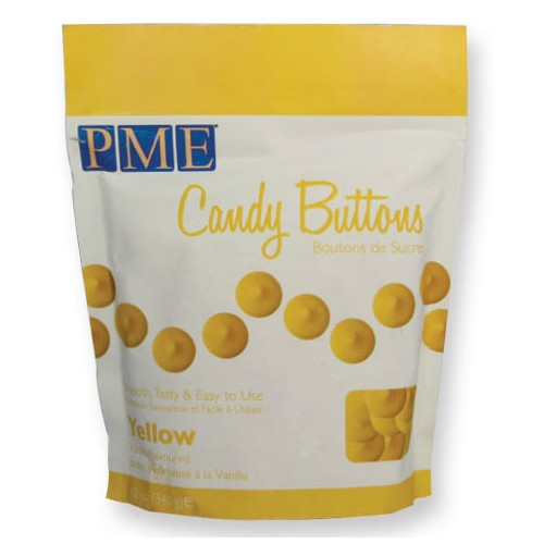 Candy Buttons yellow