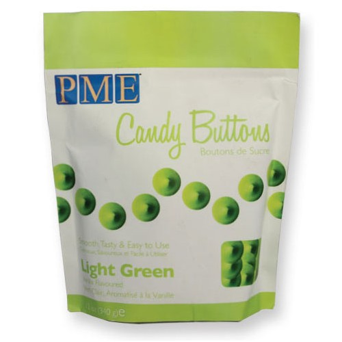 Candy Buttons light green