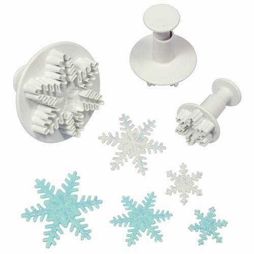 Plunger cutter snowflake