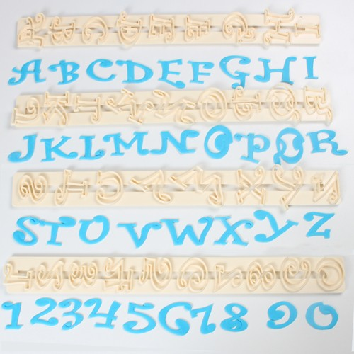 Chunky Funky Alphabet & Numbers Set Tappits