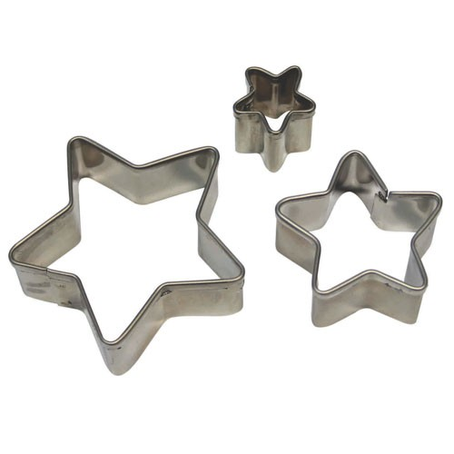 Star cutters set 3pcs