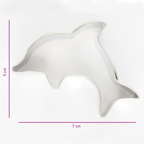Cookie Cutter Dolphin 7 cm