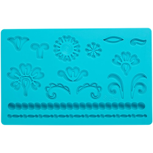 Fondant & Gum Paste Mold Damask