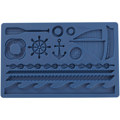 Fondant & Gum Paste Mold Nautical