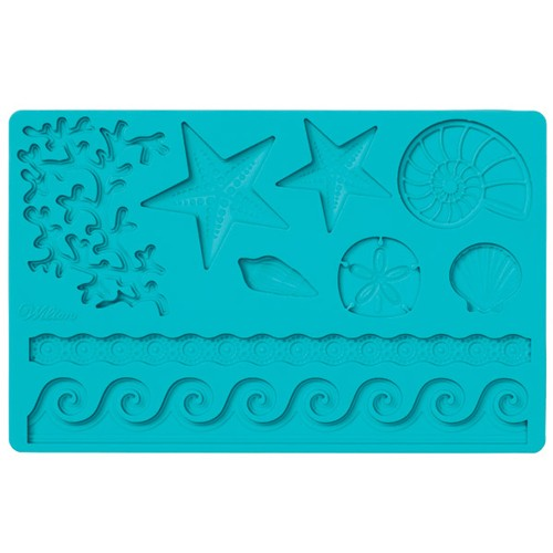Fondant & Gum Paste Mold Sea Life