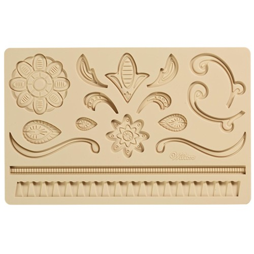 Fondant & Gum Paste Mold Lace