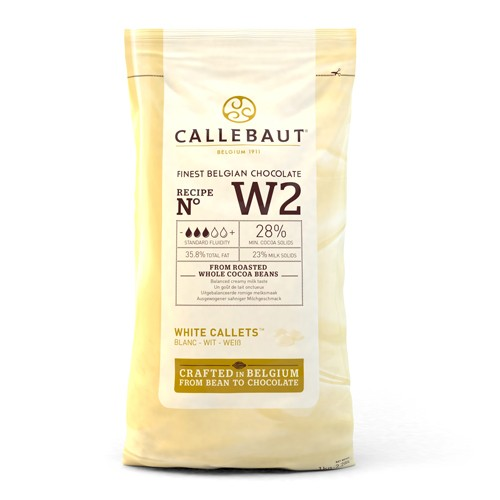 Chocolate Callets -White- 1 kg