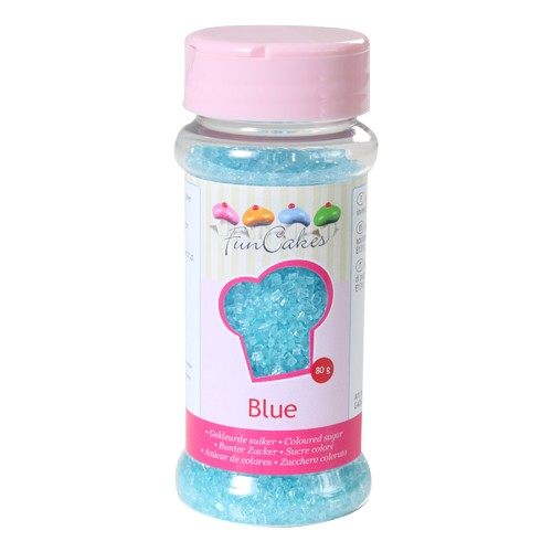 Coloured Sugar blue
