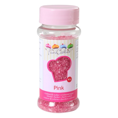 Coloured Sugar pink