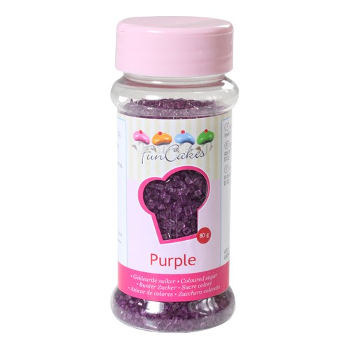 Coloured Sugar purple