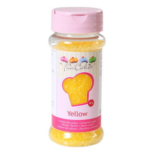 Coloured Sugar yellow