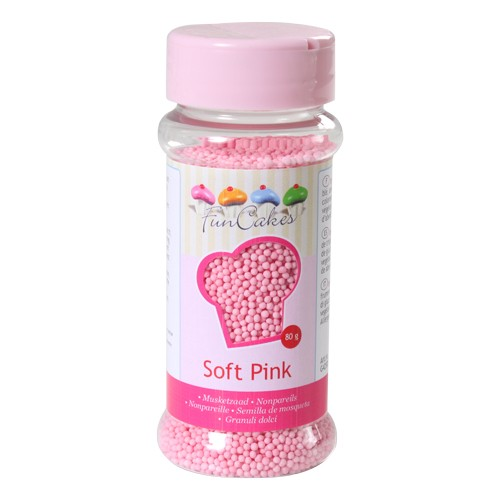 Mini Billes sucre -  rose