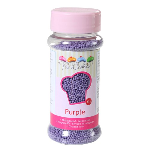 Nonpareils  Sugar purple