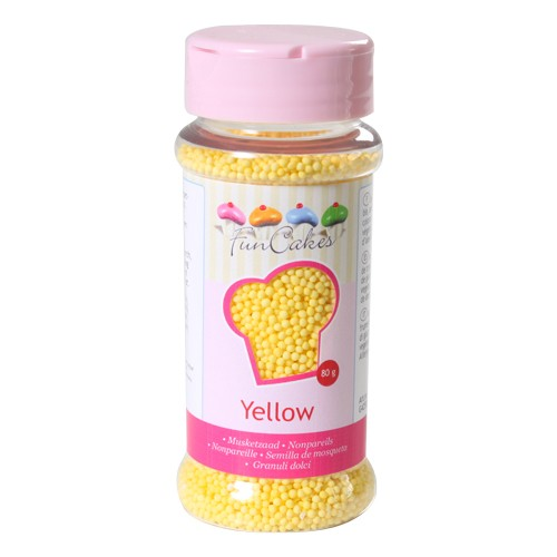 Nonpareils  Sugar yellow