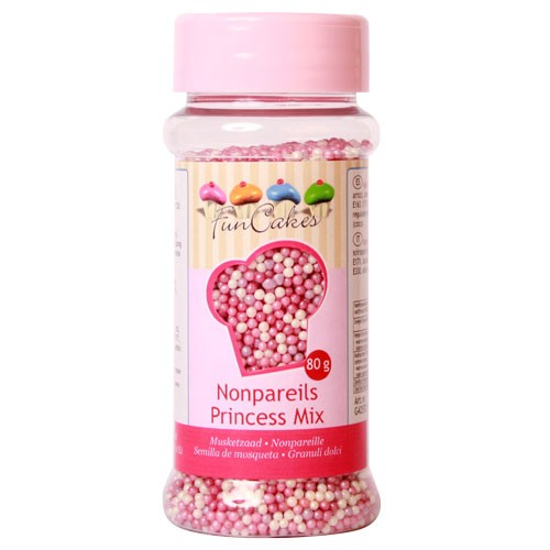 Nonpareils  Sugar dark pink