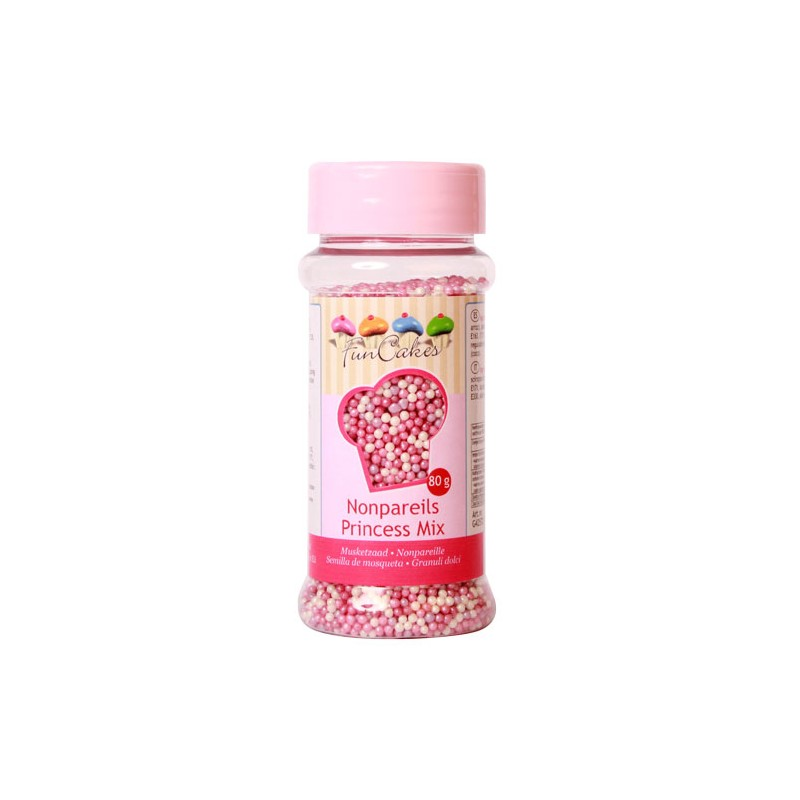 Nonpareils Rose Mix