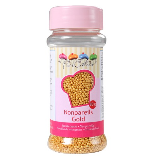 Nonpareils Sugar gold