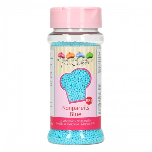 Nonpareils  Sugar blue