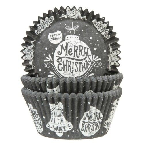Baking Cups Merry Christmas