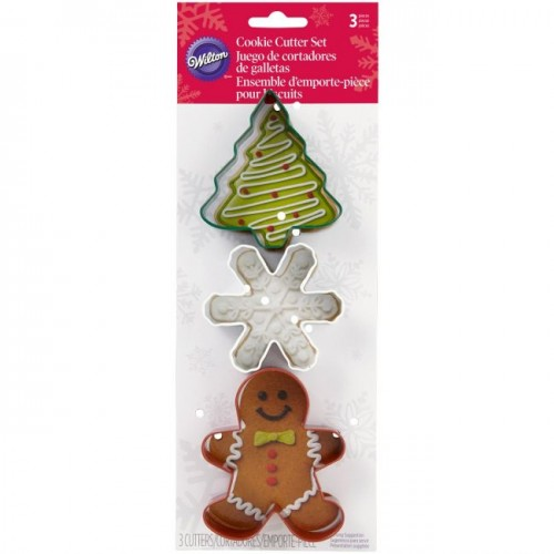 Cookie Cutter Christmas Set