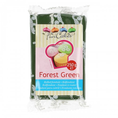 FunCakes Rolfondant - forest green 250g