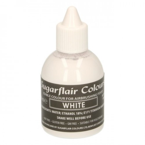 AIRBRUSH COLOURING -WHITE- 60ML