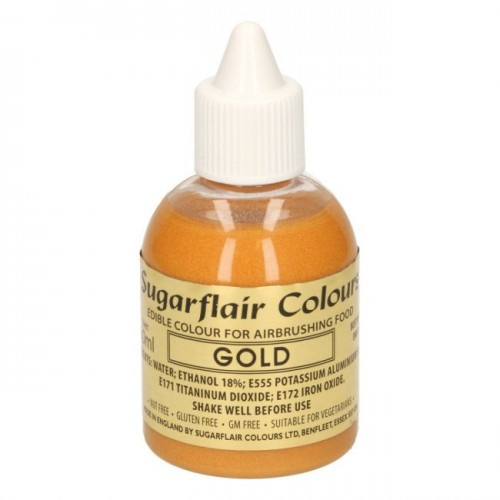 AIRBRUSH COLOURING -GOLD- 60ML