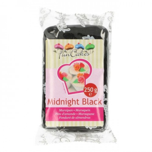 Massepain Midnight black 250g