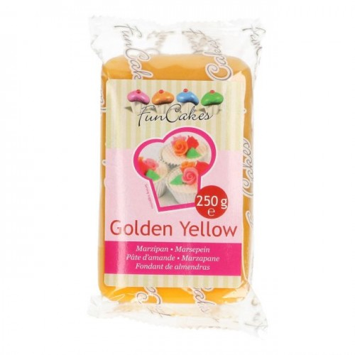 Massepain Golden Yellow  250g