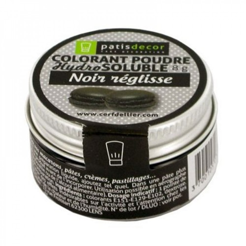 Colorant hydrosoluble NOIR REGLISSE