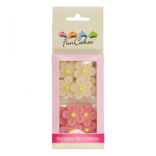 MARZIPAN DECORATIONS DAISIES