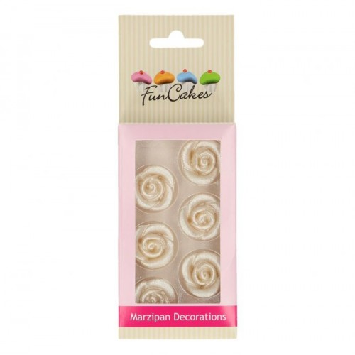 MARZIPAN DECORATIONS ROSES