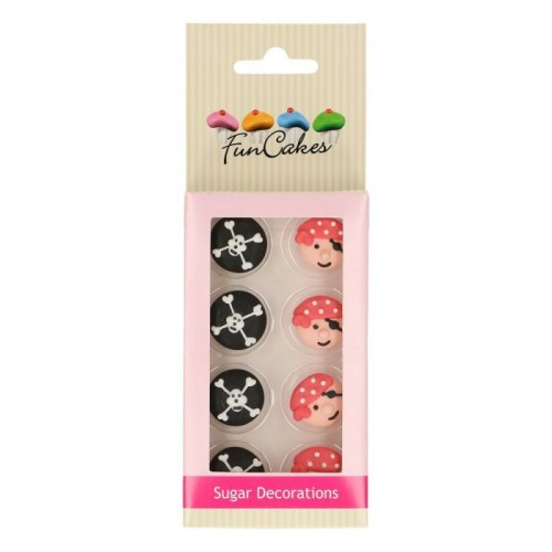 SUGAR DECORATIONS PIRATES SET/8