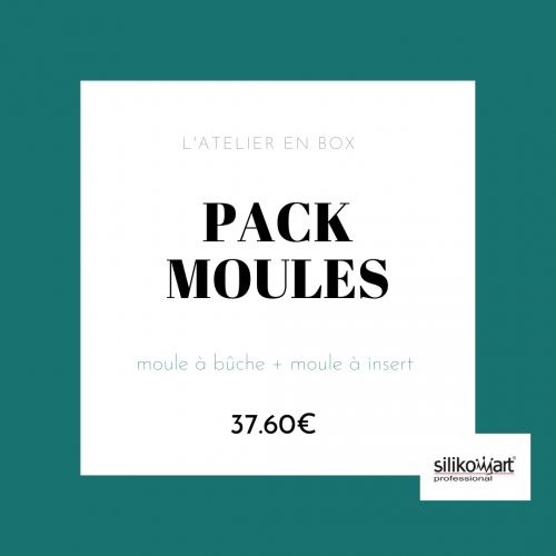 Pack moules à bûches
