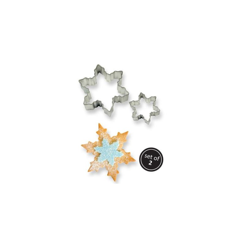 Cookie Cutter Snowflake pcs/2