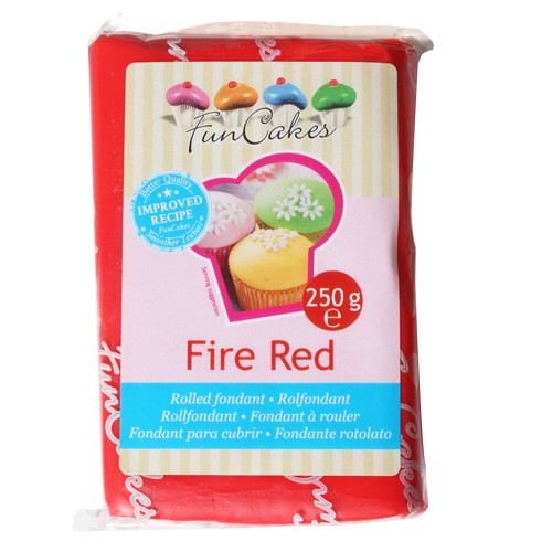 FunCakes Rolfondant red 250g