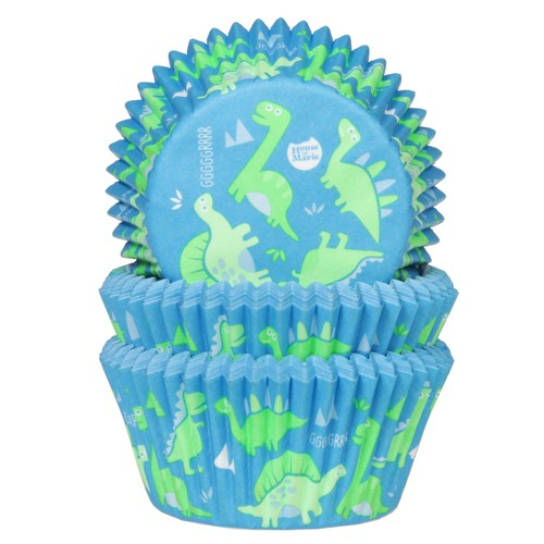 Baking cups dino
