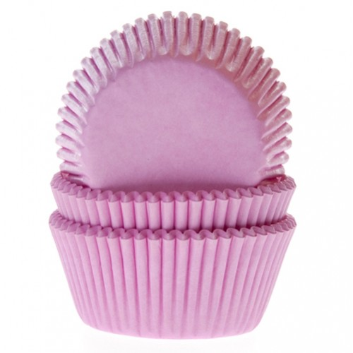 Baking cups light pink