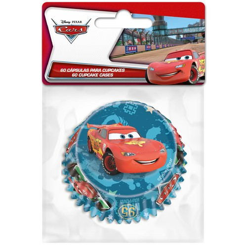 Baking cups Cars