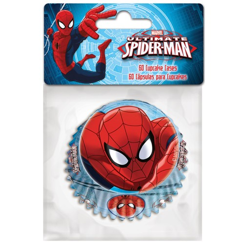 Baking cups Spiderman